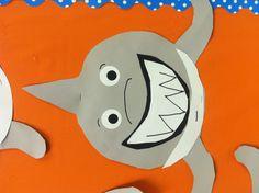 Shark art project