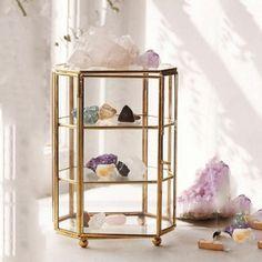 日系 歐系 飾品收納首飾架 公主風 復古珠寶玻璃首飾盒 手錶珠寶展示架♥預購♥- I16120003