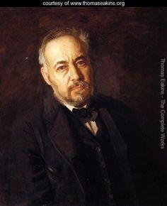 Self Portrait, 1902 - Thomas Cowperthwait Eakins - www.thomaseakins.org