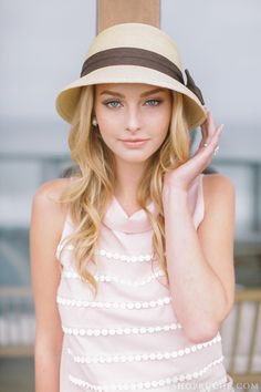 So excited to bring you another giveaway from one of our favorite online shops, Ruche! Ruche's. Style Olivia Palermo, Fashion Vestidos, Love Hat, Lookbook, Senior Girls, Girl With Hat, Lady, Passion For Fashion, Dress To Impress