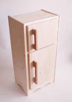 $200.  Wooden Play Toy Fridge for Play Kitchen - Fridge ONLY.  Don't forget about etsy when investing in a new kitchen!