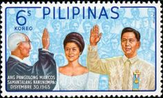 December 30, 1965 ~Ferdinand Marcos becomes President of the Philippines.  This was the day I was born.