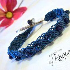 Exotic Style Micro-macrame Bracelet Pattern $12.96