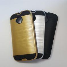 Motorola Moto E (Gen 2) - Slim Sleek Brush Metal Case - 6.45$