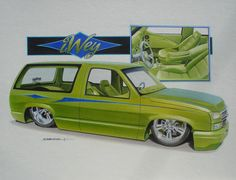 Green Chevy !