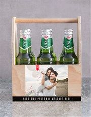 Personalised Photo Printed Beer Crate | Man Crates | NetFlorist Pink Happy Birthday, Happy Birthday Candles, Happy Birthday Balloons, Man Crates, Unicorn Balloon, Helium Balloons, Happy Anniversary, Fathers Day, Beer
