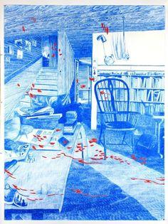 Morten Schelde (Danish, b. Ocean of Time I, Pencil on paper, 200 x 150 cm. Illustration Sketches, Graphic Illustration, Painting Inspiration, Art Inspo, Drawing Interior, Korean Art, Art For Art Sake, Pretty Art, Art Drawings