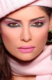 Maquillage oriental 90