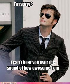 This man makes me smile :) Wish he had a longer run on Dr. Who... I'll always <3 the tenth doctor