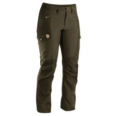 Style, comfort and durability! Fjallraven Nikka Women's Trousers - Dark Olive