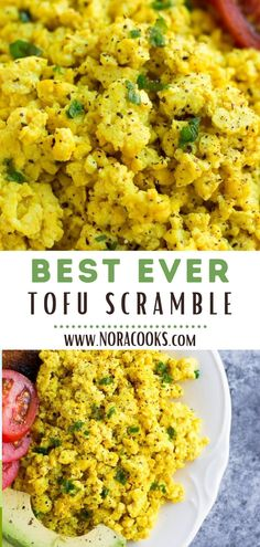 The Best Tofu Scramble - Nora Cooks