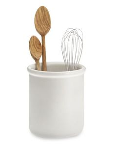 williams sonoma utensil holder, made by hall china here in ohio