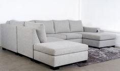 Capri Modular Corner Suite - 5 Pieces - Kiwi Bed and Sofas Auckland