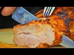 Pieczona karkówka / свиная шея / Oddaszfartucha - YouTube Pizza Lasagna, Polish Recipes, Polish Food, Kfc, Ribs, Pork, Turkey, Cooking Recipes, Meat