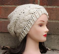 Ravelry: Julia Slouchy Hat pattern by Justine Walley