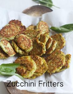 Zucchini Fritters are great to take to your next party or potluck. Everyone loves them.