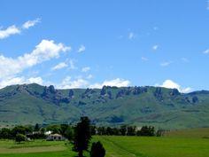 Southern Drakensberg Mountains near Elliot