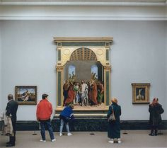 National Gallery I, London 1989 / by Thomas Struth