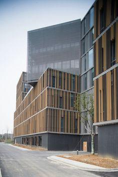 Galeria de Parque Tecnológico Nanjing Hongfeng, Edifício A1 / One Design - 17