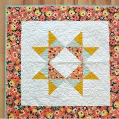 New Friday Tutorial: The Missouri Star Baby Quilt with Flange Binding