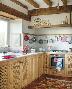 little rustic kitchen