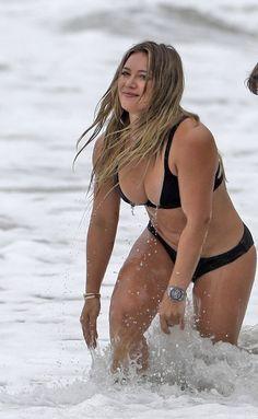 Hilary duff nude on beach chair