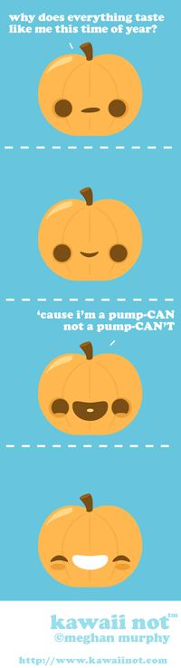 Pumpkin Flavored (Kawaii Not Comic)