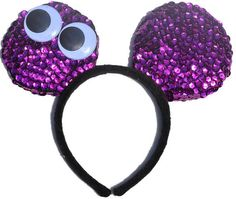 Were All Mad Ears Hand Crafted - Hand Made Sequin Costume Mouse Ears are the perfect pair of mouse ears for toddlers, children, and adults with the...  #disney #disneyears #mouseears #aliceinwonderland #cheshirecat #wonderland #disneyside #characterears #disneycosplay #disneyheadband #childrensheadbad #adultmouseears