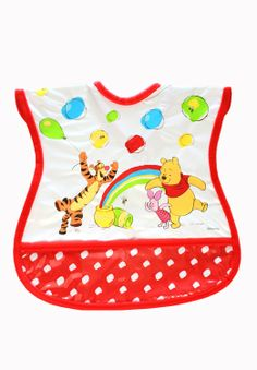Winnie The Pooh Tie Neck Bib available online at http://www.babycity.co.uk/
