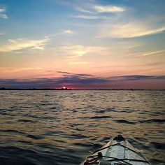 Fan photo by Cody Wood. #sunset #kayak #okckayaks #Oklahoma #oklahomasky #yakfishok by oklahoma_kayak_superstore