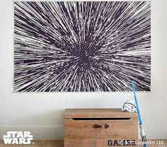 Star Wars™ Hyperdrive Mural #pbkids