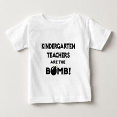 Kindergarten Teachers Are The Bomb T Shirt, Hoodie Sweatshirt