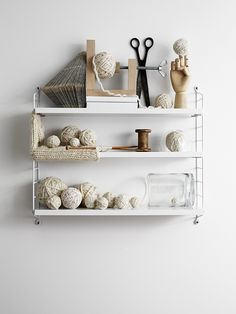 WIN a String pocket in the colour of your choice this weekend on My Scandinavian Home Blog. (image styled by Caroline Dahl / Lotta Agaton).