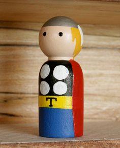 Thor Small Peg by WoodenLegNamedSmith on Etsy, $8.00