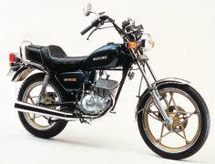 GN50E-1981 My first Bike
