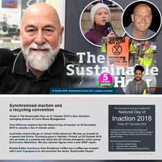 Guest in The Sustainable Hour on 31 October 2018 is Ken Dickens, managing director of Corio Waste Management. Paul Wittwer explains that the National Day of Inaction on 30 November 2018 is actually… School Strike, Climate Action, School Kids, Helsinki, Finland, Sustainability, November, Management, Play