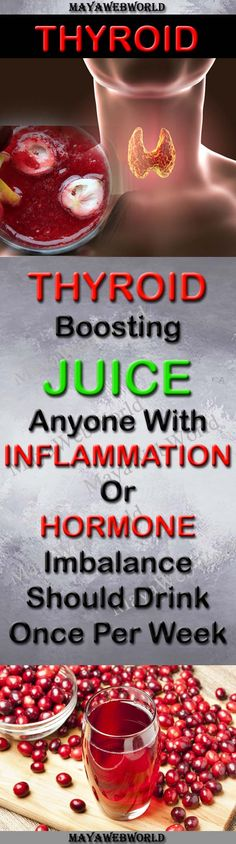A Thyroid-Boosting Juice Anyone With Inflammation Or Hormone Imbalance Should Drink Once Per Week – MayaWebWorld