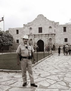 """Alamo After Spanish officials secularized the mission, they stationed a cavalry unit there in the early 1800s. Alamo is the Spanish word for """"cottonwood,"""" and cavalry soldiers adopted the nickname in homage to their hometown: Alamo de Parras, Coahuila."""