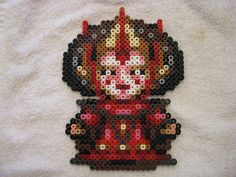 Amidala Wee Star Wars hama perler fuse beads by TheSistersBlythe