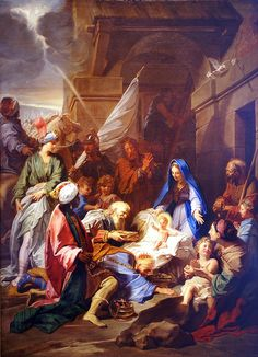 Adoration of the Magi by Jean Jouvenet