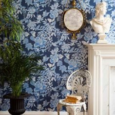 Wallpaper - Cole & Son - Folie - Tivoli - Paint & Paper Ltd