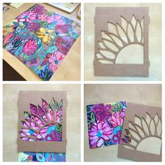 Reverse-Appliqué Blooming Tote Bag on http://www.createmixedmedia.com