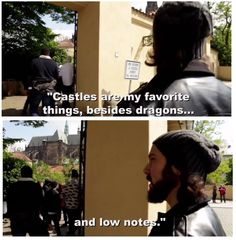 Castles are also my favorite thing, besides dragons and maths      avi kaplan | Tumblr