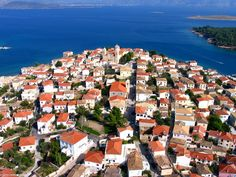 Air-photo of Galaxidi. Air Photo, Greek Islands, Detached House, Property For Sale, Greece, River, Places, Outdoor, Greek Isles