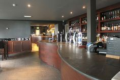 Gallery of commercial slate worktops for bars and restaurants that required hand crafted, bespoke designed and contemporary slate work surfaces. Slate Flooring, Hardwood Floors, Slate Worktops, Top Restaurants, Work Surface, Basin, Custom Design, Commercial, Contemporary