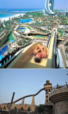 Jumeirah Sceirah at the Wild Wadi Waterpark (UAE) #dubai #uae