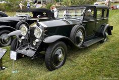 1929 Rolls Royce Phantom I Hooper Towncar - front/side