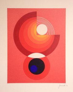 Jean Rets (Belgium, 1910 - 1998) AKITA 1 1973