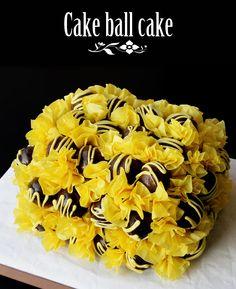 How to make a cake ball cake • CakeJournal.com