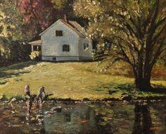 """Two Pointers""  Jacob Creek Pennsylvania    Adam Maeroff 2013"